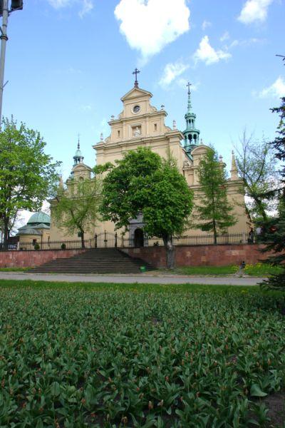 The Kielce Cathedral Wrota Wi Tokrzyskie Portal